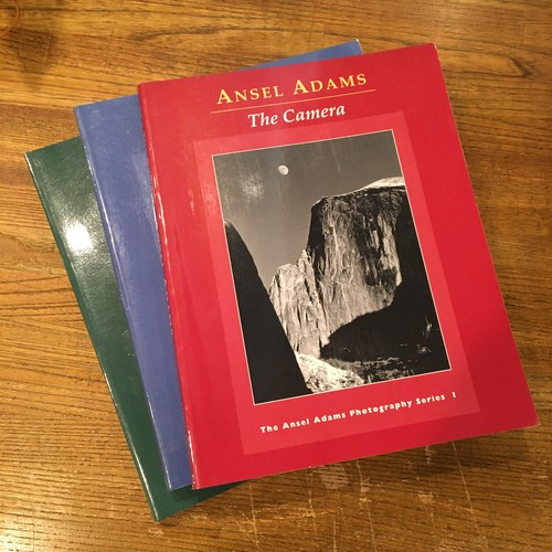 The Ansel Adams Photography Series 1-3: 1 The Camera, 2 The Negative, 3 The Print(3冊セット)