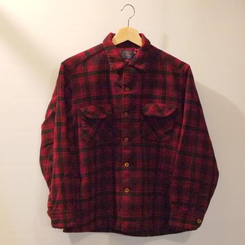 PENDLETON 1960's Wool shairts SizeL