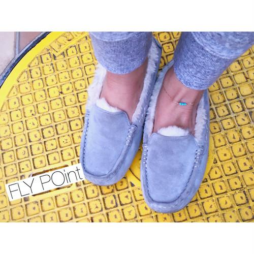 -14kgf- 3dots blue anklet