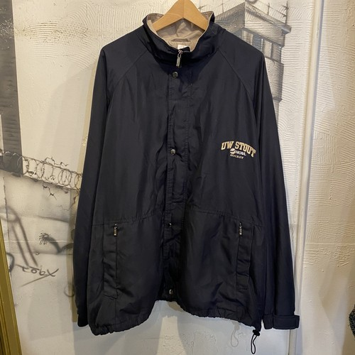 polyester zip up jacket