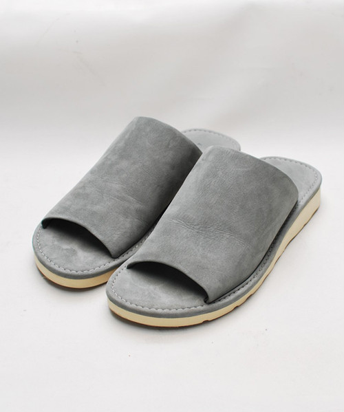 OURET  DOBBY STRETCH & NUBUCK LEATHER VIBRAM TOE OPEN SANDALS OR000-1782