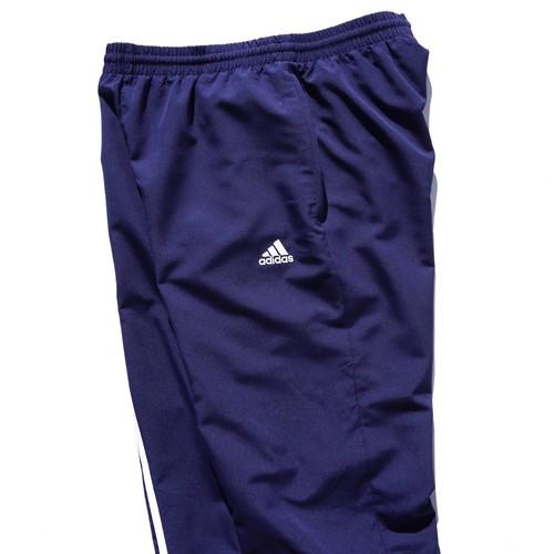 2000's [adidas] 3ストライプス トラックパンツ ネイビー 実寸(L程度) アディダス
