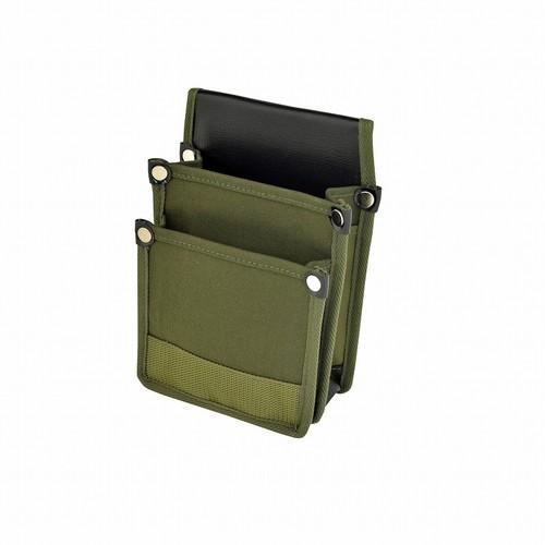 マルキン印 内側ポケット付帆布/補強付 YKⅡ-03 国防