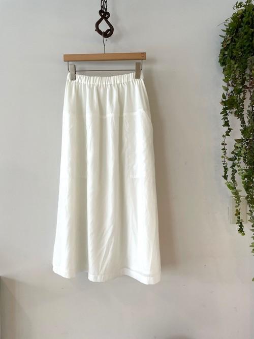 SUPP. / 125-1001ムラ染めナイロンスカート