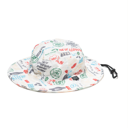 [KiU×NAC]SAFARI HAT / WHITE