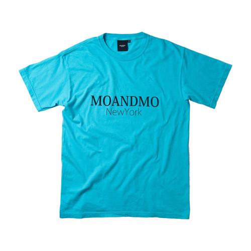 MOANDMO LOGO Tee / Washed Sky