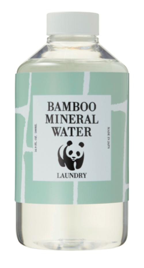 竹炭のミネラル水(洗濯用)500ml キャップボトル