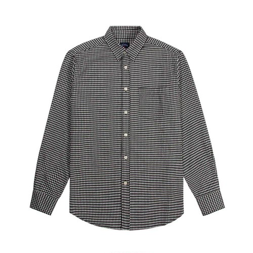 Flannel Houndstooth Shirt