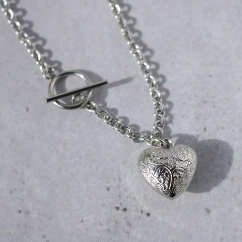 Heart Choker ver2(金属アレルギー対応)