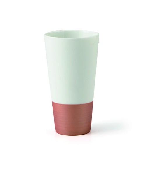 味変形酒杯 ブロンズストレートタイプ大