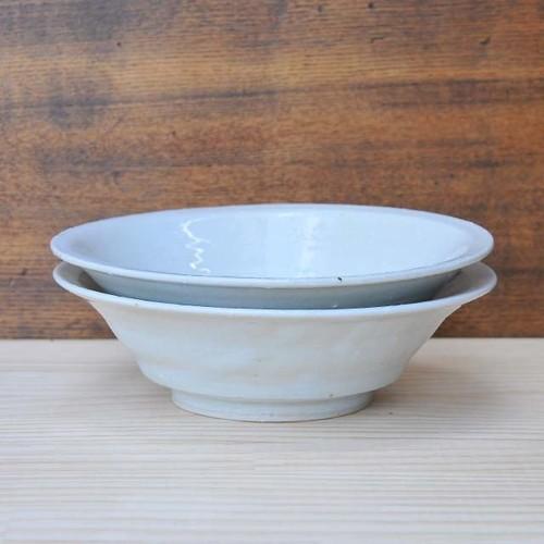 臼田けい子 6寸段鉢 柞灰(KU-46)