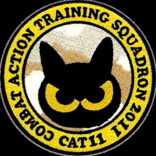 CAT11ステッチパッチ黄