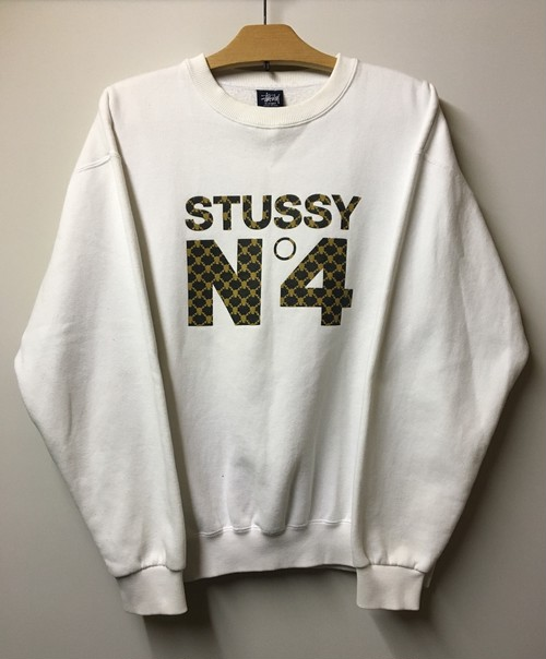 STUSSY Chanel No.5 Parody Sweatshirt