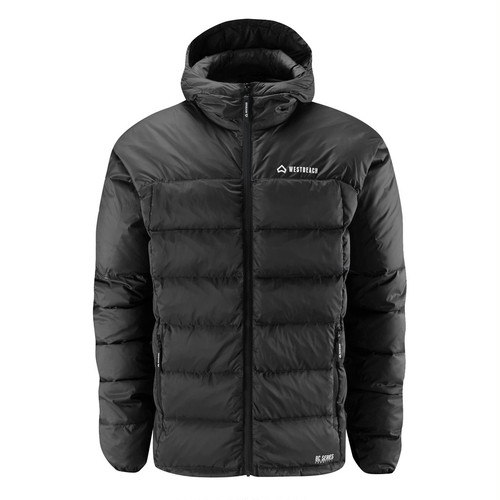 Lookdown Down Jacket  -Black-