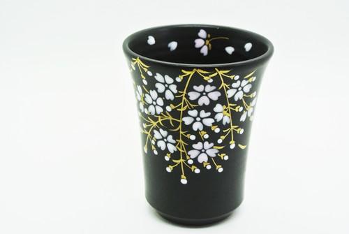 桜フリーカップ 小(黒)
