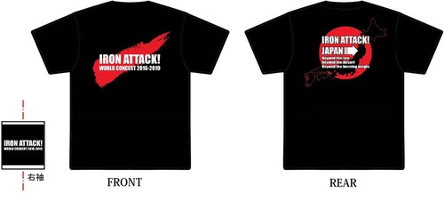 ★NEW★2018JAPAN Tシャツ/IRON ATTACK!