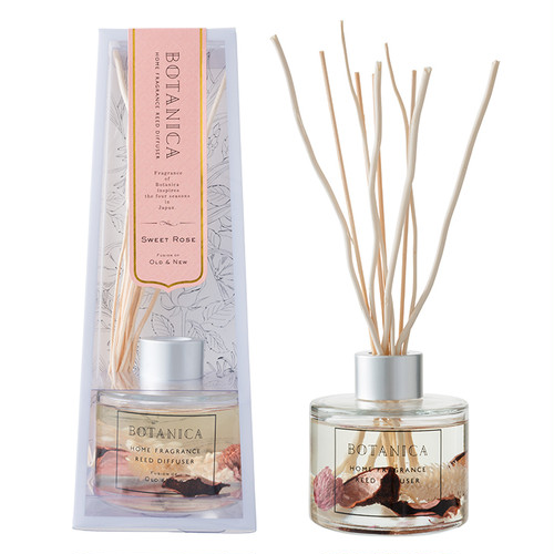 REED DIFFUSER (110ml) - PINK (Sweet Rose)