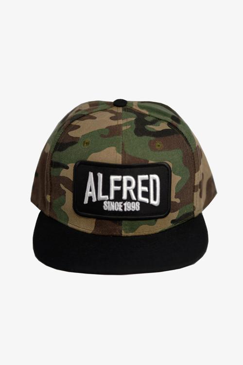 ALFRED BASEBALL CAP 「SINCE」/  Camo Black