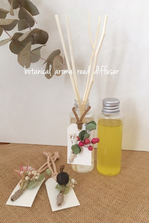 《Trial size 60ml》BOTANICAL AROMA REED DIFFUSER