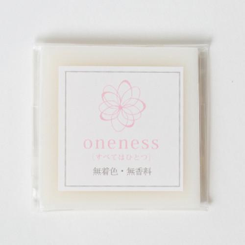 ワンネス 髪を洗う石鹸(無香料無着色)(サンプルサイズ))