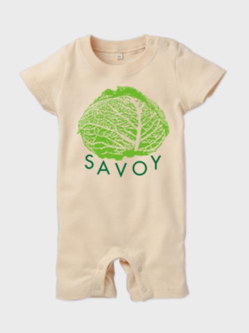 SAVOY(サボイ・キャベツ)1 ロンパース ナチュラル