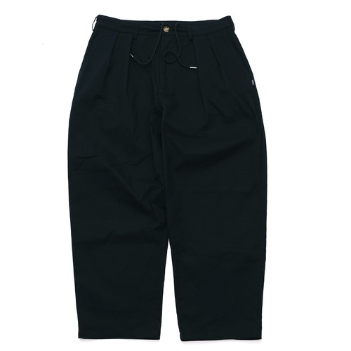 【NAVY】CHINO WIDE TAPERED PANTS