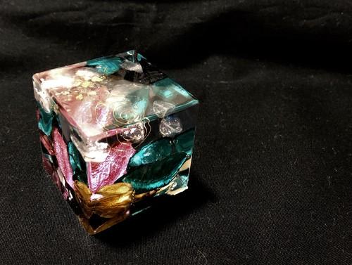 オルゴナイトキューブ型
