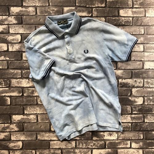 """""""FRED PERRY"""" Tye-Dye Polo Shirt"""