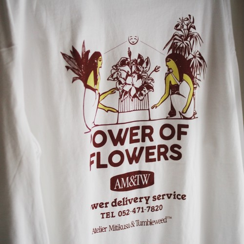 POWER OF FLOWERS fat cat long sleeve