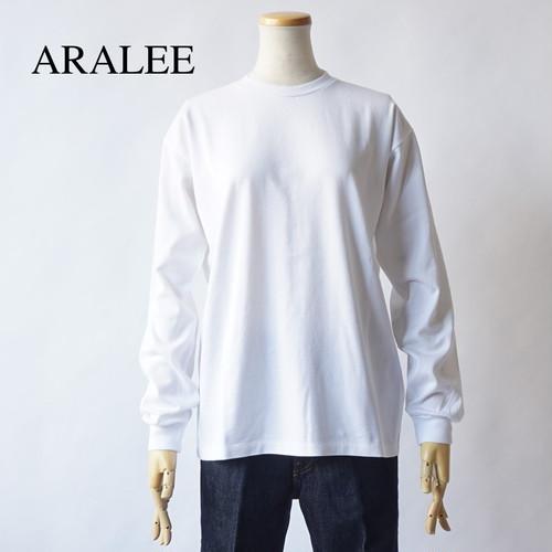 AURALEE/オーラリー ・LUSTER PLATING L/S TEE