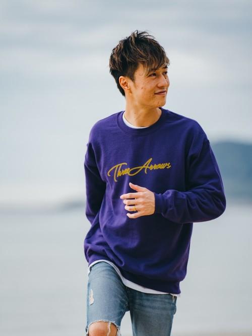ThreeArrows SWEAT(purple × yellow)