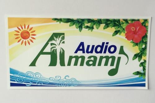Amami Audio    ロゴマーク・ステッカー