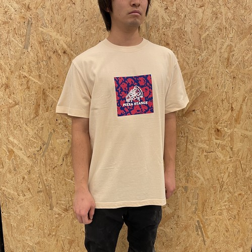 STANCE PIZZA tee / Natural