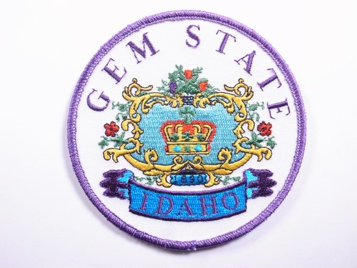 "PATCH""GEM STATE IDAHO 1690"""