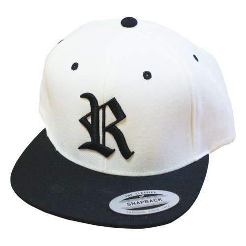 R SNAP BACK WHITE