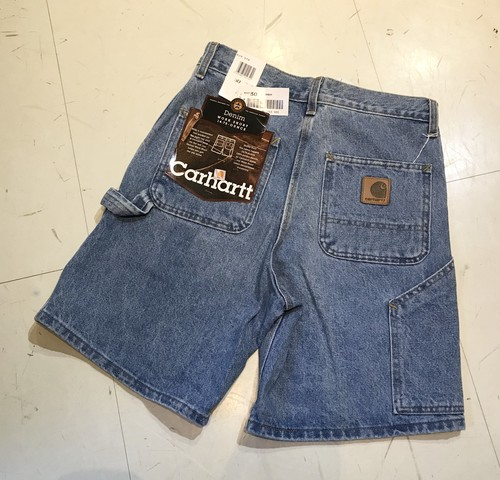 Dead Stock Carhartt Denim Painter Shorts w30