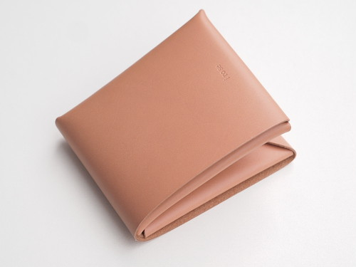 【i ro se】SEAMLESS SHORT WALLET 二つ折り財布 NUDE