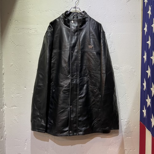 R.D.G. ITALIA leather coat made in ITALY