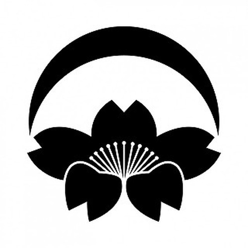 月落ち桜 aiデータ