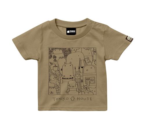 キッズTシャツ2020 / ベージュ