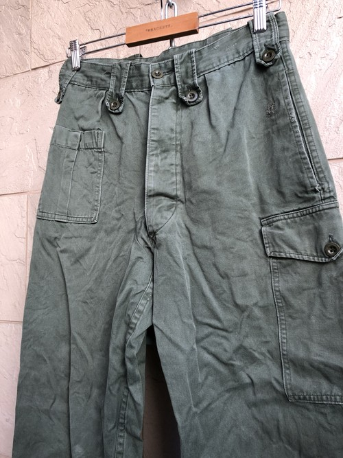 Used Belgium military trousers W30 L28.5