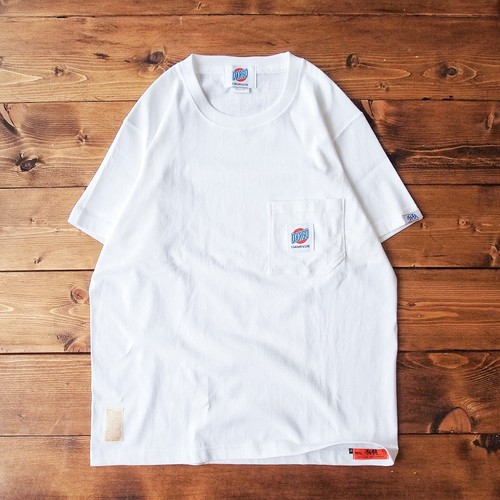 【DARGO】Working Pocket T-shirt (WHITE)