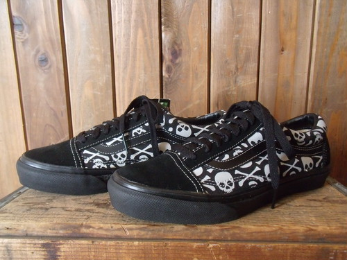 VANS★90s DEAD STOCK  【Old Skool】 <Skull>