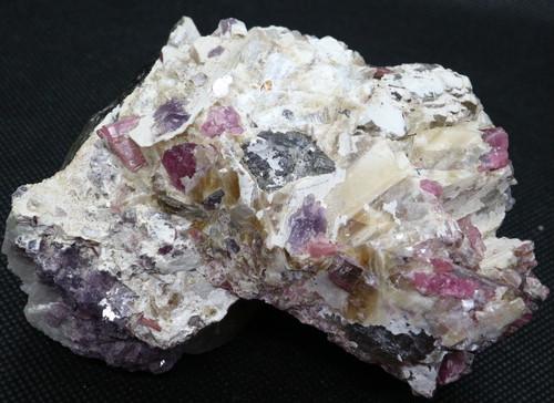 特大!ピンクトルマリン スモーキークォーツ 雲母 505g T115 天然石 鉱物 標本 原石 パワーストーン