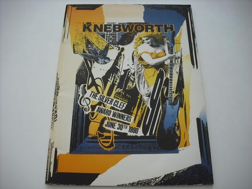 【パンフレット】V.A. / KNEBWORTH 1990