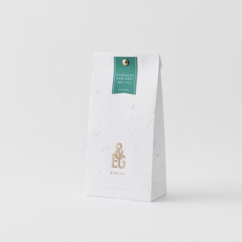 緑茶アールグレイ 6 TEA BAGS