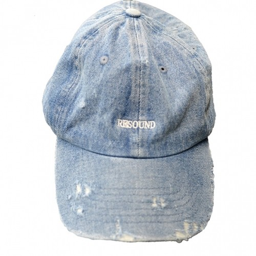 RESOUND CLOTHING(リサウンドクロージング)VINTEAGE DENIM RESOUND LOW CAP IND B CLASH