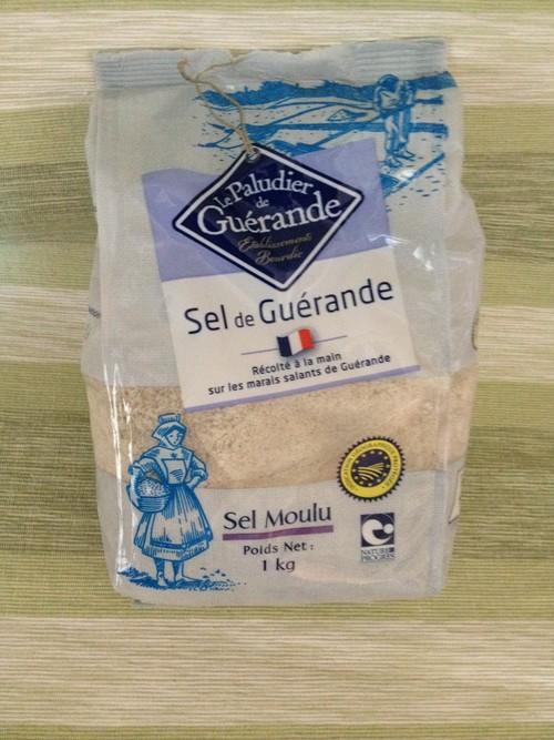 ゲランドの塩 1kg(フランス産天日塩)