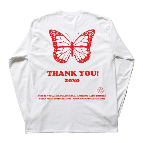 【Cat & Parfum】Thank you Long Sleeve