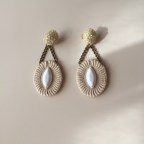 OVAL EARRINGS -S-